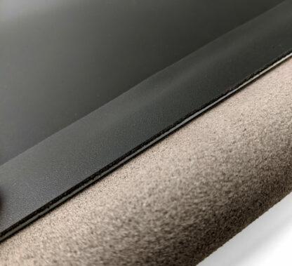 Aluminiowe wzmocnienie maty skórzanej