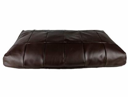 Duża poduszka skórzana - podnóżek