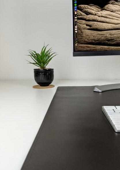 Duża skórzana podkładka na biurko