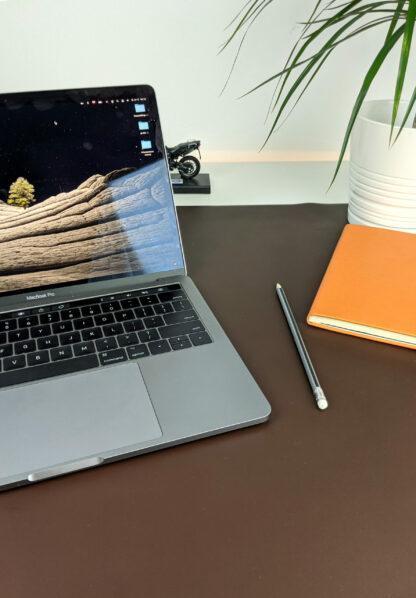 Mata skórzana do biura - z notesem