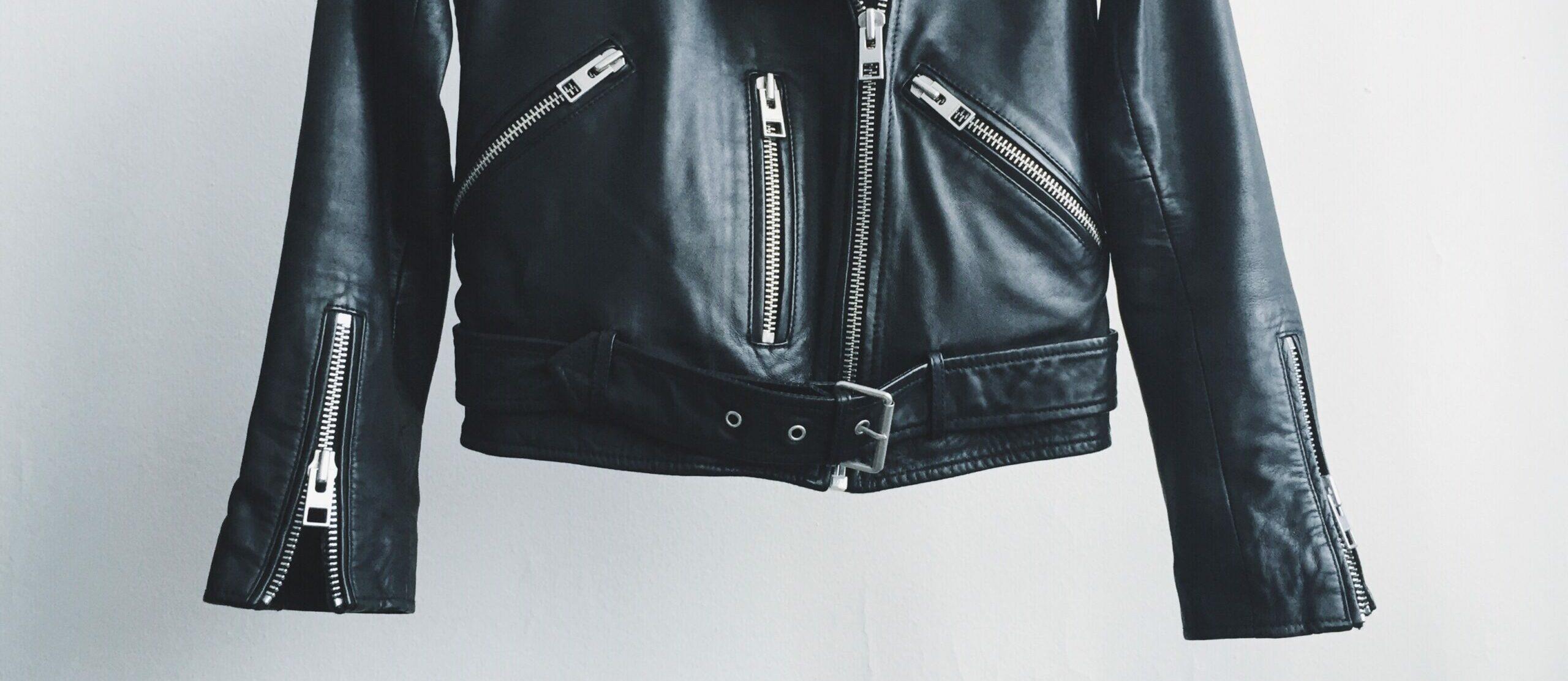 Kurtka skórzana - ramoneska - poradnik - jak dbać i czyścić kurtki skórzane