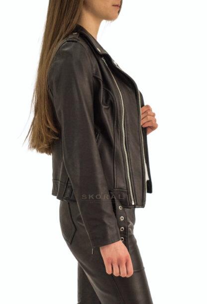 Ramoneska skórzana Piston - profil