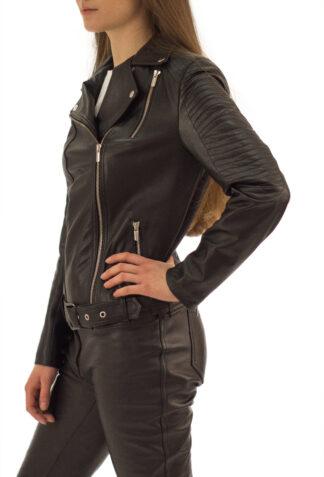 Skórzana ramoneska damska Smith - firmy Skóral - profil